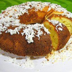 Cake à la confiture et noix de coco