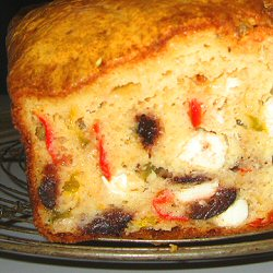 Cake feta, poivron et olive