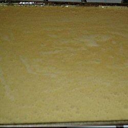 Pâte à biscuit roulé