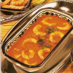 Crevettes en sauce - Ch'titha de crevettes