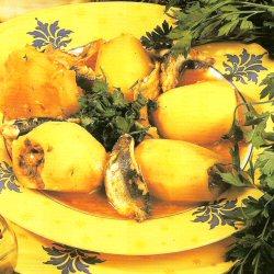 Dolma de pommes de terre farcies aux sardines