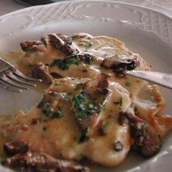 Escalopes de dinde aux champignons