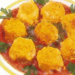 Quenelles de pommes de terre