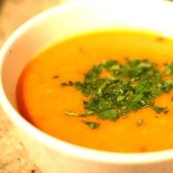 Soupe aux carottes