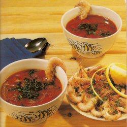 Soupe de crevettes (Chriba camroune)