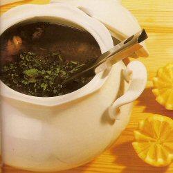 Soupe au poulet et vermicelle (chorba beida)