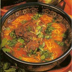 Soupe Rouge ou Chorba Hamra
