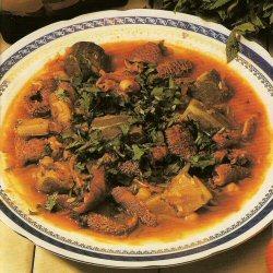 Tripe de mouton en sauce - Bekbouka